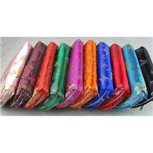 10 Silk Cosmetic Bags PURSE/WALLET/MAKEUP/ Wholesale