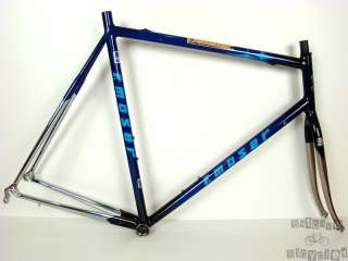 59c F. Moser Leader AX Evolution Dedacciai Steel Road Bike Frame and