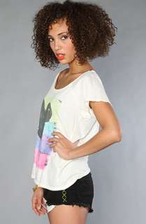 Junkfood Clothing The Mickey Mouse Off Shoulder Tee  Karmaloop
