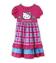 NWT NEW GIRLS HELLO KITTY DRESS SET SZ 2T 3T 6