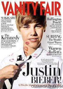Justin Bieber Vanity Fair magazine February 2011