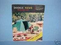 1959 DODGE NEWS MAGAZINE ROYAL LANCER CORONET BROCHURE