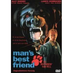 Mans Best Friend [VHS] Ally Sheedy, Lance Henriksen, Robert Costanzo