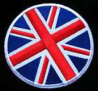 UK Flag Iron on Patch Embroidery Britain Union Jack