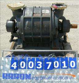 Used Nash vacuum pump, type CL1003. Approximately 330