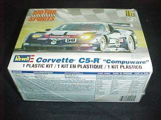 C5 R Compuware 125 Scale Model Kit #4941 31445049415