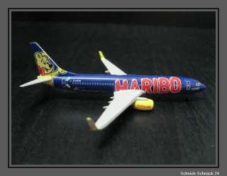 Herpa Wings 505031 Boeing 737 800 TUIfly Haribo Sonderedtion  1:500