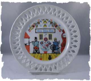 Berggren Traynor Home Sweet Home Wall Plate Sweden NICE
