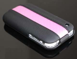 Apple iPhone 3G 3GS Leder Klapp Tasche Etui Case Hülle