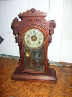 Antique Welch Parlor Kitchen Clock for Repair or Parts