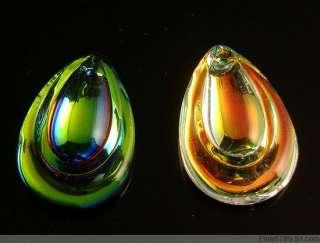 Lots 50Pcs 30mm Teardrop Crystal Glass Beads Pendants