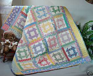 Vintage Churn Dash Quilt Pattern from ConnectingThreads.com Quilting