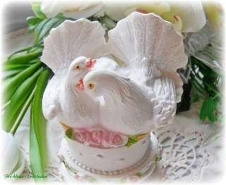 Tortendekor,Torte Tauben ,Hochzeit,Tortenfigur