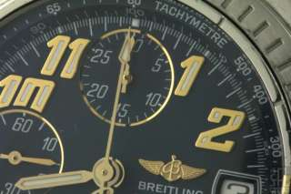BREITLING WINDRIDER CHRONOMAT B13350 SS/18K AUTOMATIC CHRONOGRAPH MEN