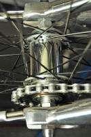 2005 Trek Rail CNC all aluminum Fat Tire Cruiser bike Rat Rod Polished