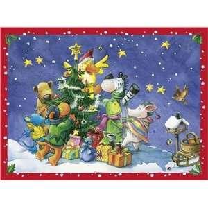 Die Lieben Sieben   Lustige Weihnachtsfeier Schokoladenkalender
