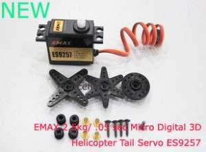 EMAX 2.5kg/ 0.05 sec Micro Digital 3D Tail Servo ES9257
