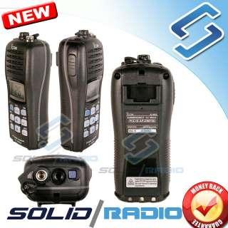 This is a brand new icom IC M34 marine VHF radio. 100% new, factory