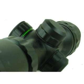 Compact Illuminate Green Red Mil dot Scope AO Adjustment Sniper