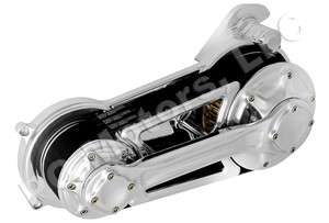 SYNCHRONOUS BELT DRIVE PRIMARY POLISHED ALUMINUM SOFTAIL HARLEY