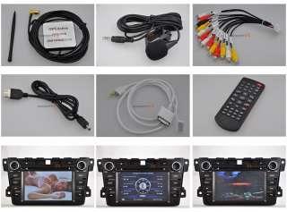 2007~11 Mazda CX 7 DVD GPS Navigation Radio Double 2 DIN In dash 08 09