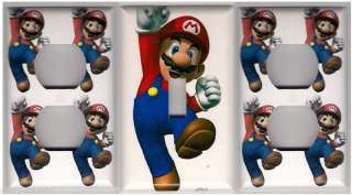Super Mario Bros Decorative Light Switch & Outlet set