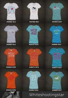 NWT Women HOLLISTER Beach Graphic TEE T Shirt Size XS, S, M, L, XL
