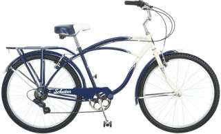 Schwinn Lakeshore 26 Mens 7 Speed Cruiser Bicycle/Bike  S4012A