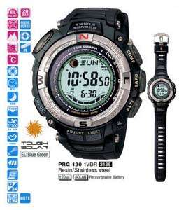 CASIO Protrek Triple Sensor PRG 130 1V Men Solar Watch