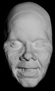 Linda Blair Rare Exorcist Test Make Up White Life Mask