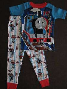 THOMAS Toddler Boys Pajamas size 12M 18M 24M 3T 4T 5T