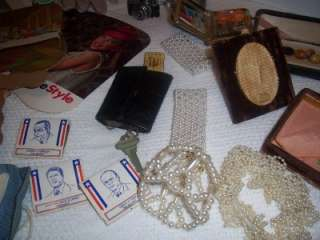 Vintage Estate Junk Drawer Lot of 50+ Items Collectables Antiques