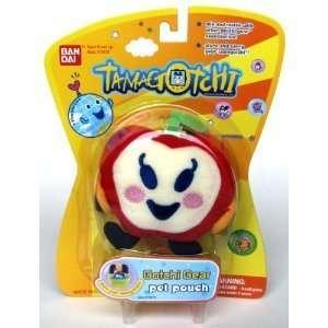 Bandai Tamagotchi Pouch & Lanyard Neck Strap Red Apple