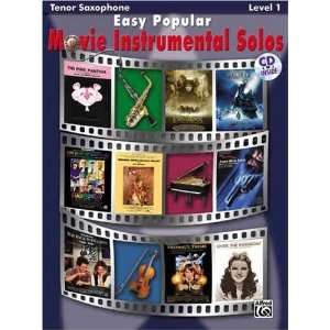 Popular Movie Instrumental S [Paperback] Alfred Publishing Books