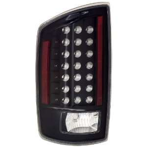 Anzo USA 311123 Dodge Ram Black LED Tail Light Assembly   (Sold in