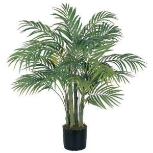 Exclusive By Nearly Natural 3 Ft Areca Silk Palm Tree: Home & Kitchen