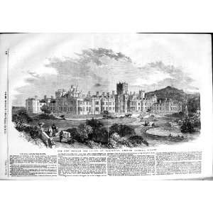 1854 Asylum Idiots Earlswood Common Redhill Surrey  Home