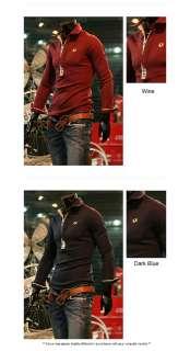 Mens Fashion Slim Fit Polo T Shirts Top L, XL, XXL