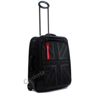 Trolley Bagaglio Medio MINI Black Jack Nero Due Ruote Leggero NUOVO