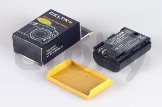 BATTERIA DELTA COMPATIBILE LP E6 PER CANON 7D / 5D MARK II CON CHIP