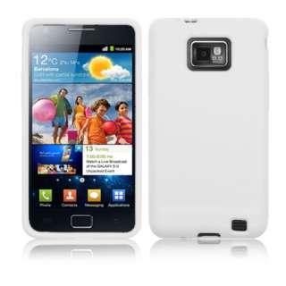 Magic Store   White Silicone Case Cover For Samsung Galaxy S2 i9100