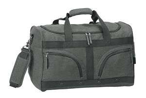 green eco recycled cotton canvas gym sports duffel bag