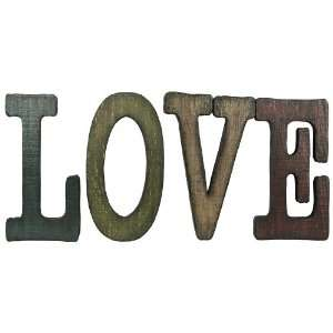 Link Direct A03279 UPS Wood LOVE Wall Plaque