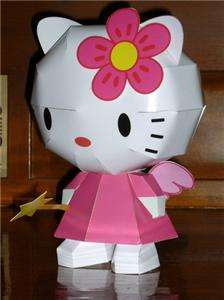 DIY Sanrio Kitty Kawaii Origami 3D Japanese Model Paper