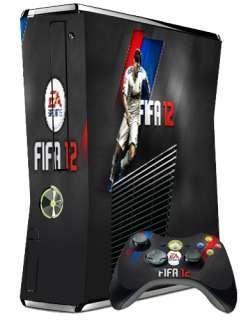 FIFA 12 vinyl skin stickers Xbox 360 Slim skin