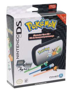 Official Nintendo DS Lite DSi Pokemon Black & White Kit Case Bag New