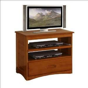 Entertainment Center New Energy Honey Bedroom TV Stand