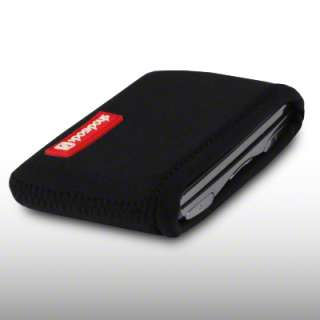 NEOPRENE POUCH / CASE FOR NOKIA LUMIA 800   BLACK