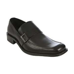 Kenneth Cole New York black leather On the Town loafers