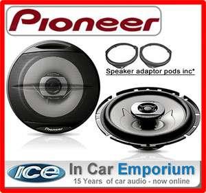 Toyota Avensis Front Door Speakers Pioneer car speakers